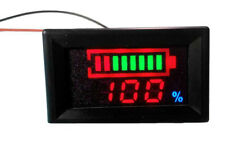 12V Lead-acid Battery Indicator Intuitive Voltage Display LED Display Meter