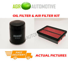 PETROL SERVICE KIT OIL AIR FILTER FOR MAZDA 323F 1.8 114 BHP 1998-01