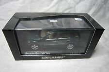 AE280 MINICHAMPS 1/43 MERCEDES BENZ CLASSE M M-CLASS 400034500 GREEN METALLIC