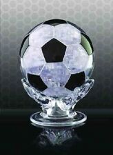 FOOTBALL 3D PUZZLE 76 PIECE 3D JIGSAW - CRYSTAL MIND GAME CHALLENGE TRANSPARENT