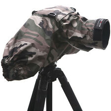 Pro DSLR Camera PROTECTOR COVER Lens Snow Dust Rain Bag V2 Camouflage Army
