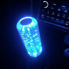 4 Color Manual Bubble Gear Stick Shift Shifter Lever Knob Cap With LED Light Car