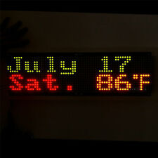 2pcs 3216 Bicolor Red & Green LED 5mm Dot Matrix Display Information Board