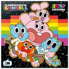The Amazing World Of Gumball Official Calendar 2017(Free Poster)
