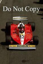 Gilles Villeneuve Ferrari 312 T3 Swedish Grand Prix 1978 Photograph 1