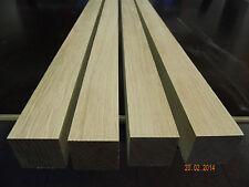 4-Eiche-Tischbeine-4,5x4,5x90cm-gehobelt-Kantholz-Modellbau-Leisten-Stuhlbeine