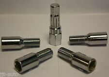 M14X1.5 TUNER SLIMLINE ALLOY WHEEL LOCKING LOCK BOLTS FIT SEAT ALHAMBRA ALTEA