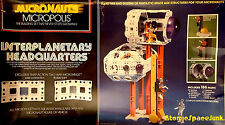 MEGO MICRONAUTS INTERPLANETARY HEADQUARTERS SPACE TOY PLAYSET VINTAGE 1978
