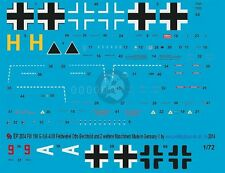 Peddinghaus 1/72 Fw 190 A-4/U8 Yellow H Markings Otto Bechtold 7./SKG 10 2834