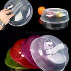 Microwave Clear Ventilated Vented Plate Dish Food Cover Kitchen Tool 26cm