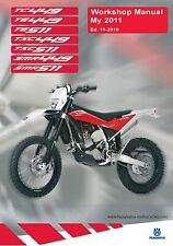 Husqvarna workshop service manual 2011 SMR 449 & SMR 511