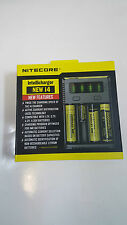 2016 Nitecore New i4 Intelligent Charger for NiMH / NiCD / Li-ion 18650 CR123