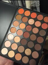 WARM NEUTRAL EYESHADOW PALETTE BEST MORPHE 350 DUPE NATURE GLOW