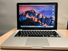"Apple MacBook Pro 13"" Mid 2010  250GB hard drive MacOS Sierra 10.12.4"