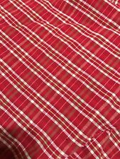 Gingham 68 Inch Round Tablecloth