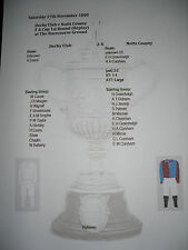 1880-81 fa cup 1st round replay derby club v notts county matchsheet