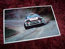 Photo  / Photograph TOYOTA Celica 4WD Turbo Didier Auriol Nouvelle Zélande //