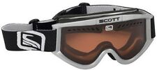 Scott Heli OTG Silver Ski Snowboard Goggles Amplifier NEW Over Glasses
