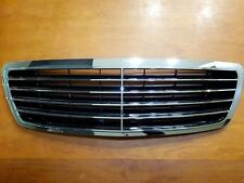 For Mercedes S Class W220 Assembly Black Grille with Chrome Frame 2003-2005 New