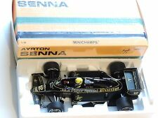 Ayrton Senna 1:18 Minichamps LOTUS John Player Special Renault 97T 1985 f1/coche