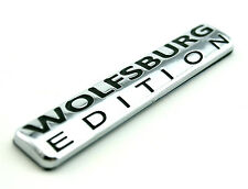 WOLFSBURG EDITION Emblem ABS Chrome Car Badge for VW Passat POLO GT TDI Golf GTI