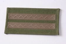 Hungary Hungarian Peoples Army Tizedes Corporal Communist patch stripe 2 NCO