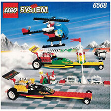 LEGO SET 6568 - DRAG RACE RALLY (EXTREME TEAM), COMPLETE, BECOMING RARE