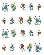 One Stroke Sticker,Comic, Blau ,Tattoo, Aufkleber  Nr.1229