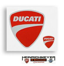 Original Ducati Sticker Decal 3D Company Crest Set Of 2