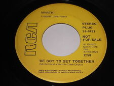 Myrth: We Got To Get Together / Get It Straight 45