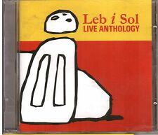 LEB I SOL - LIVE ANTHOLOGY, MACEDONIAN JAZZ/ROCK CD