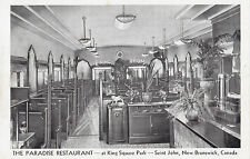 Paradise Restaurant King Square Park ST JOHN New Brunswick Canada Advertising PC