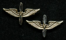 2 TWO US ARMY AIR CORPS AVIATION CADET WING MINI HAT PIN AIR FORCE PILOT SCHOOL