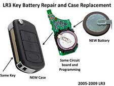 Land Rover LR3 / Range Rover 2005-2009 Key Fob Dead Battery Replacement Repair