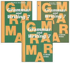 Saxon Grammar and Writing - Hake's Grammar - Grade 7 Kit - Stephen Hake NEW!