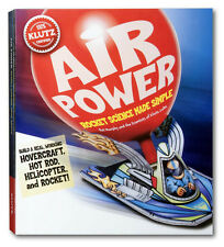 AIR POWER - ROCKET SCIENCE MADE SIMPLE FUN EDUCATIONAL KLUTZ ACTIVITY KIT