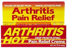Arthritis Hot Deep Penetrating Pain Relief Cream 3 oz