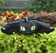 "How To Train Your Dragon Plush Stuffed Toothless 15"" Soft Lovely Cushion Pillow"
