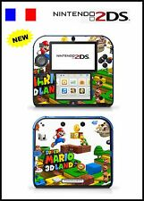 SUPER MARIO LAND 3D - Vinyl Skin Sticker for Nintendo 2DS - réf 79