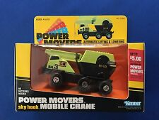 1982 Kenner Power Movers sky hook Mobile Crane No. 72250 MISB Factory Sealed