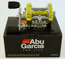 ABU GARCIA AMBASSADEUR 6500CS PRO ROCKET LIME RIGHT HAND REEL 2015 #1393345