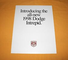 Dodge Intrepid 1998 USA Prospekt Brochure Depliant Catalog Prospetto Prospecto