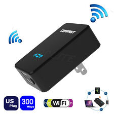 Mini Smart Wireless WiFi Repeater+Router+AP 3in1 Signal Range Extender 300Mbps