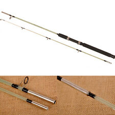 Hot Sale Long Shot Fishing Rod Lure Rod 2 Sections Fiberglass Ice Spinning Pole