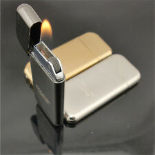 Mini Dolphin Ultra Thin Cigarette Lighter Flint Refill Butane Gas Cigar Lighter