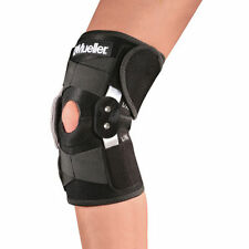 Mueller 6455 Adjustable Hinged Knee Brace Patella Compression Support Relie