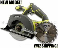 "NEW Ryobi P505 18v 5 1/2"" CIRCULAR Saw (BARE TOOL) FREE US SHIPPING! FITS P108 +"