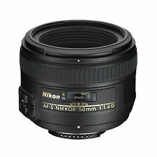 Nikon AF-S 50mm f1.4G Lens w/FREE Hoya NXT UV Filter *NEW*
