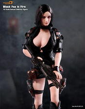 Phicen Limited Black Fox in Fire 1/6 Figure MIB Factory Sealed Rare