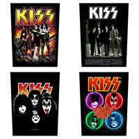 KISS Sew On Back Patch/Patches NEW OFFICIAL. Choice of 4 designs